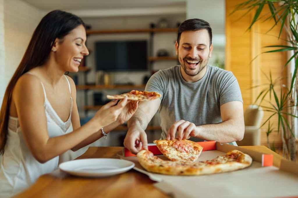 Hur många kalorier är det i en pizza?